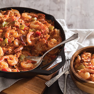 Ginger's Shrimp and Rice.