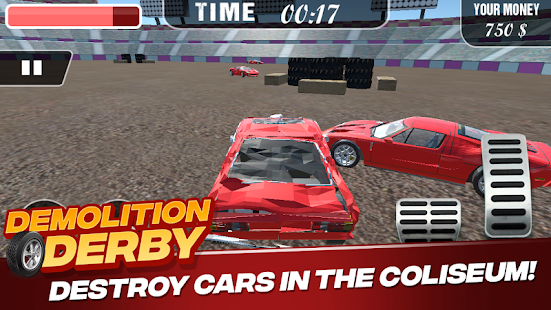 Demolition Derby Screenshot