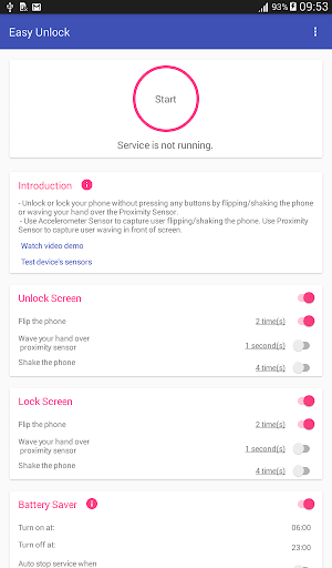 Easy Unlock - Smart Screen On Off  screenshots 8
