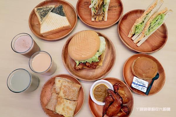 早安公雞農場晨食!新竹東南街櫻花步道附近美味早餐