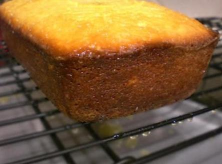 Golden Raisin Polenta Cake Recipe