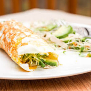 Breakfast Egg Crepes with Avocados {Gluten-Free, Dairy-Free}.