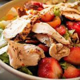 HCG Strawberry Chicken Salad Recipe
