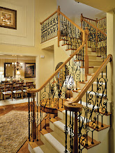 Photo: The staircase from our SAXON GRAND model at Addison Estates.