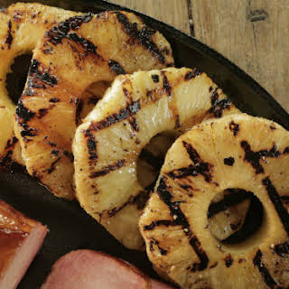 Cinnamon Grilled Pineapple.