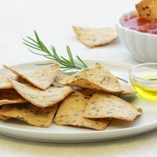 Mint and Coriander Spicy Multigrain Cracker Recipe (Mathri)