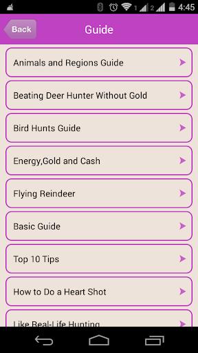 Guide For Deer Hunter 2014