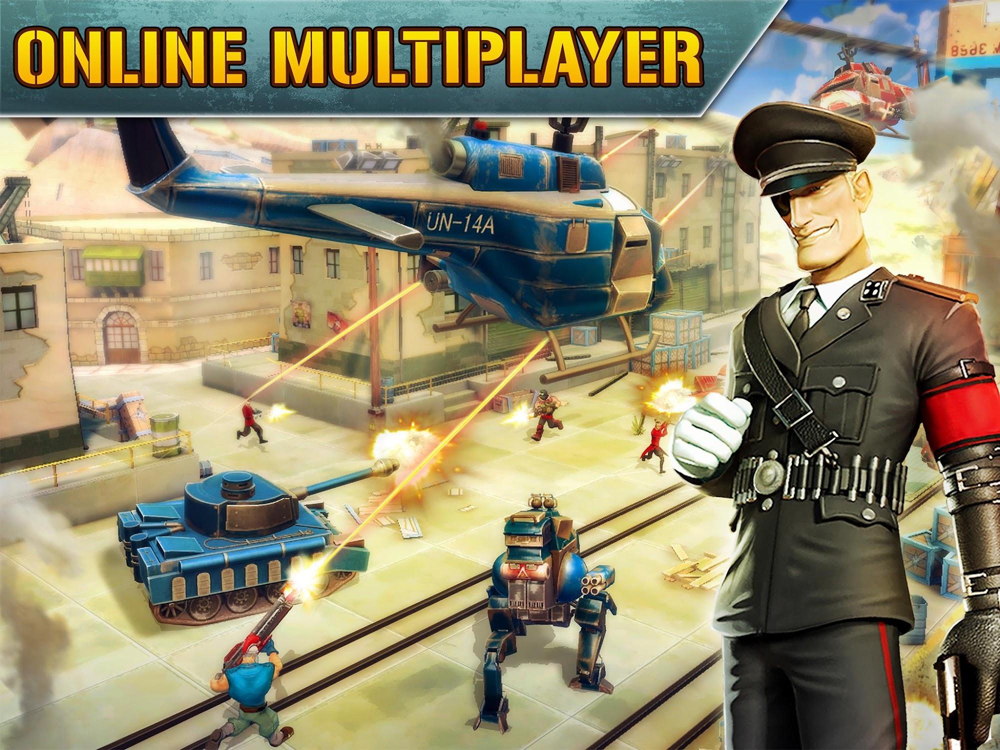 Blitz Brigade - Online FPS fun screenshot #2