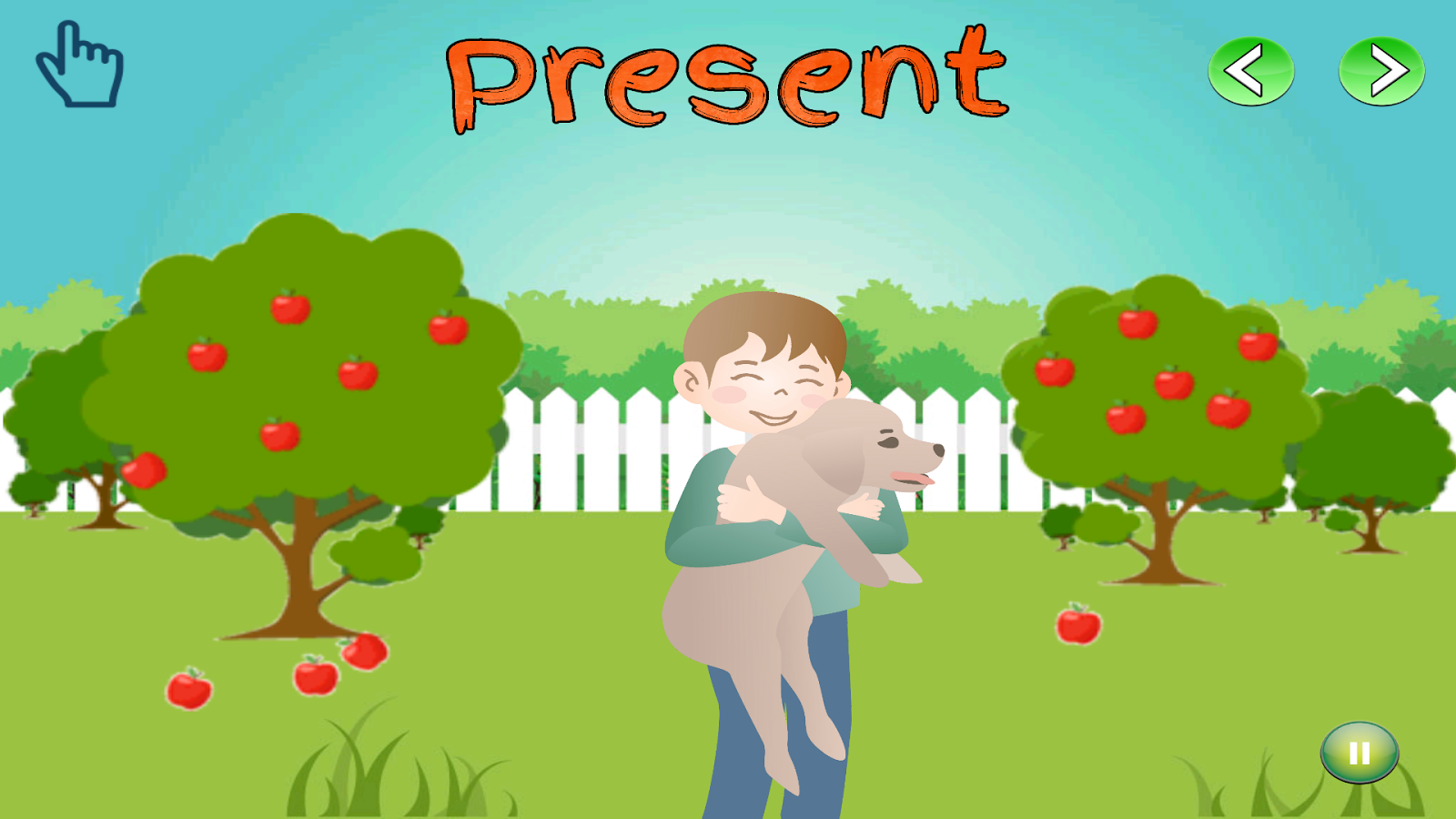 Interactive Time, Learning for Kids by W5Go- screenshot