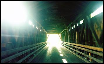Photo: Downsville Covered Bridge