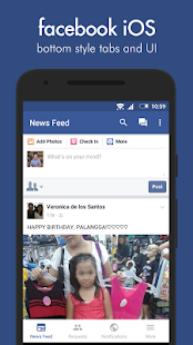 Swipe for Facebook Pro – Miniaturansicht des Screenshots