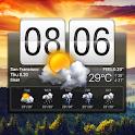 Flip Clock & Weather Widget icon