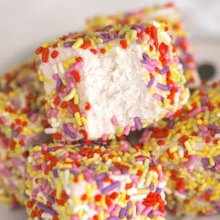 Healthy Cake Batter Fudge