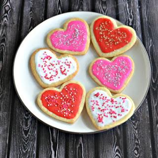 Heart Shaped Sugar Cookies #OXOGoodCookies.