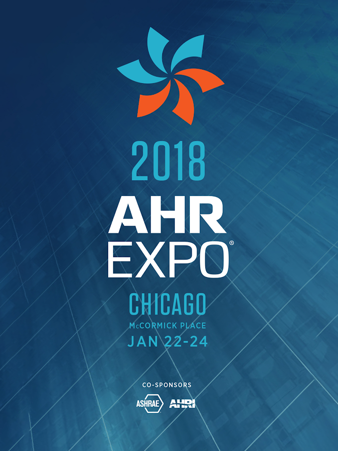 2018 AHR Expo- screenshot