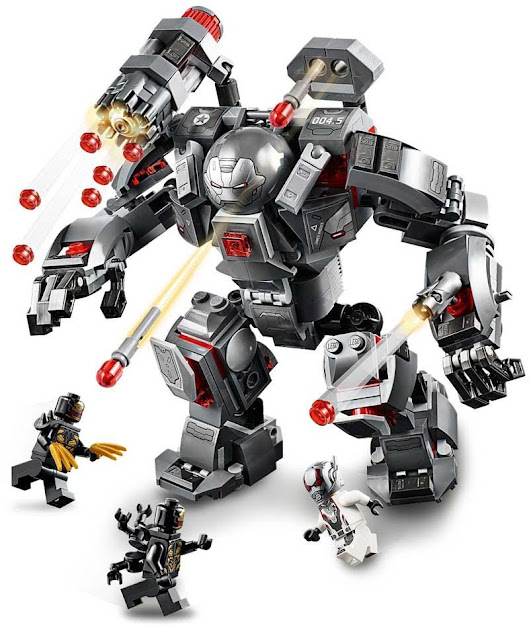Contenido de Lego® 76124 Depredador de Máquina de Guerra