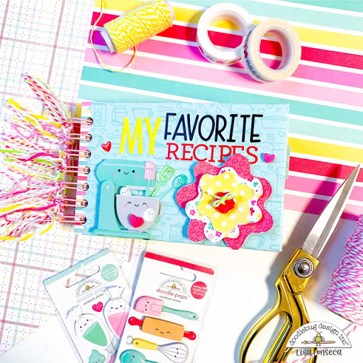 FAVORITE RECIPES BOOK   with Lisa