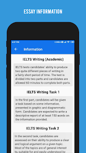 Download IELTS Writing - Academic and General For PC Windows and Mac apk screenshot 2