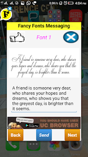 Fancy Fonts stylish typing fonts for Chat - náhled