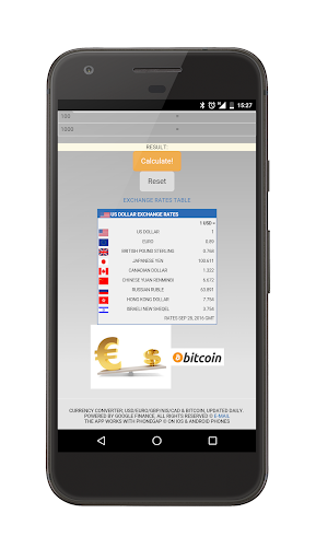 Currency Converter Easily Додатки для Android screenshot