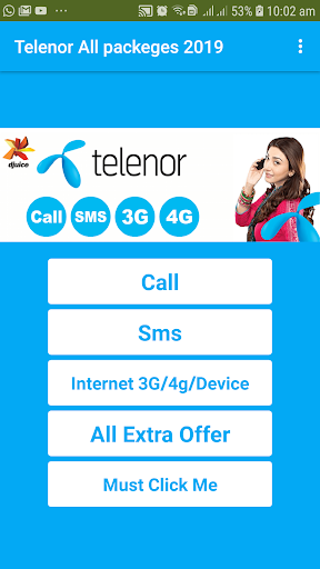 Telenors All Call Sms Internet Packeges 2020 8.0 screenshots 2