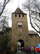 Photo: On arrive à l'entrée de Fribourg