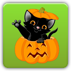 Kids Halloween Shape Puzzles icon