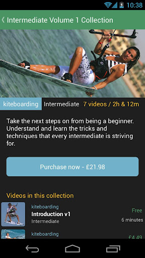 Progression Kitesurfing Coach screenshot