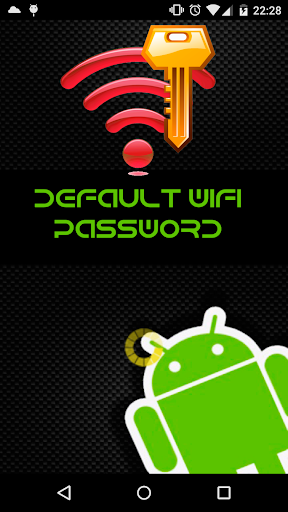 Default passwords Wifi