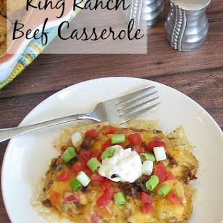 King Ranch Beef Casserole.