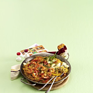 Fideos Valenciana - Spanish Vermicelli with Seafood.