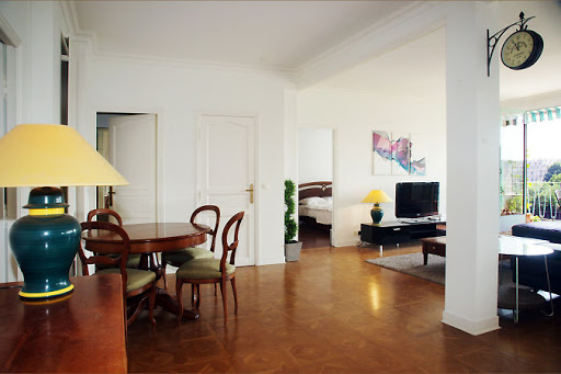 Dining space at 2 bedroom Apartment near Eiffel