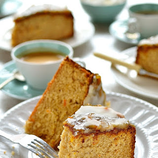 Marmalade And Ginger Cake.