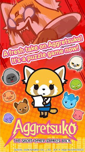Aggretsuko : the short timer strikes back apkpoly screenshots 13