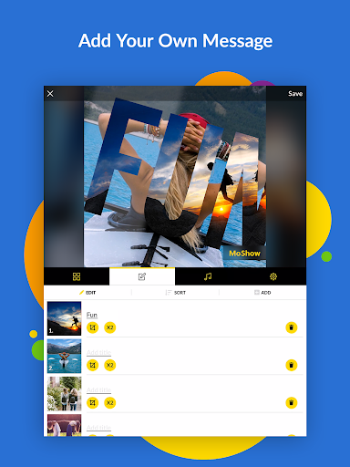 MoShow - Slideshow Maker, Photo & Video Editor 2.5.0.0 screenshots 7