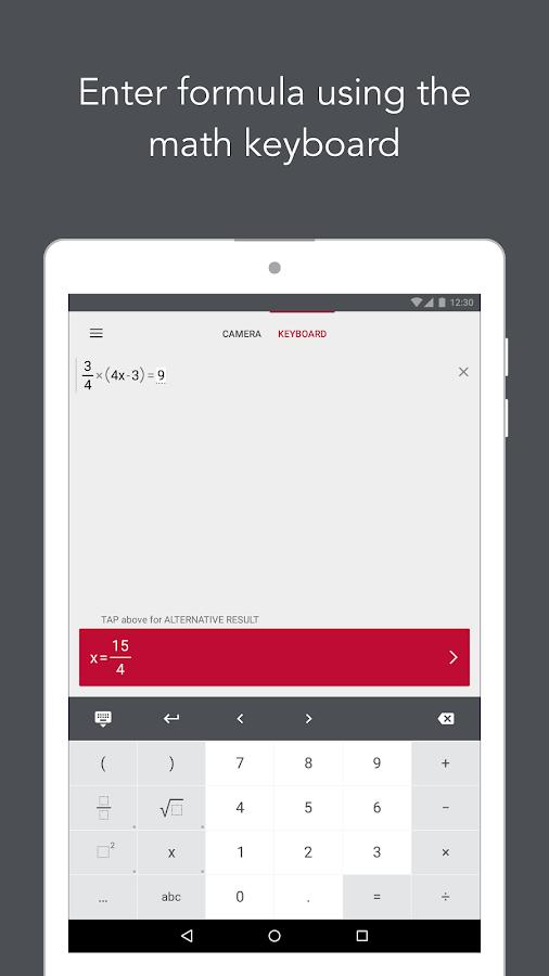 Screenshots of Photomath - Camera Calculator for iPhone