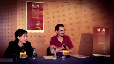 Photo: FUNCIÓN VÍDEO - miniFILM Festival 2006. The first film festival in Spain to promote the use of mobile devices and digital cameras for short film productions. Press conference with Dolors Mañe and Pablo Herrera. Watch the best miniFILMS on Vimeo Channel: https://vimeo.com/channels/funcionvideo