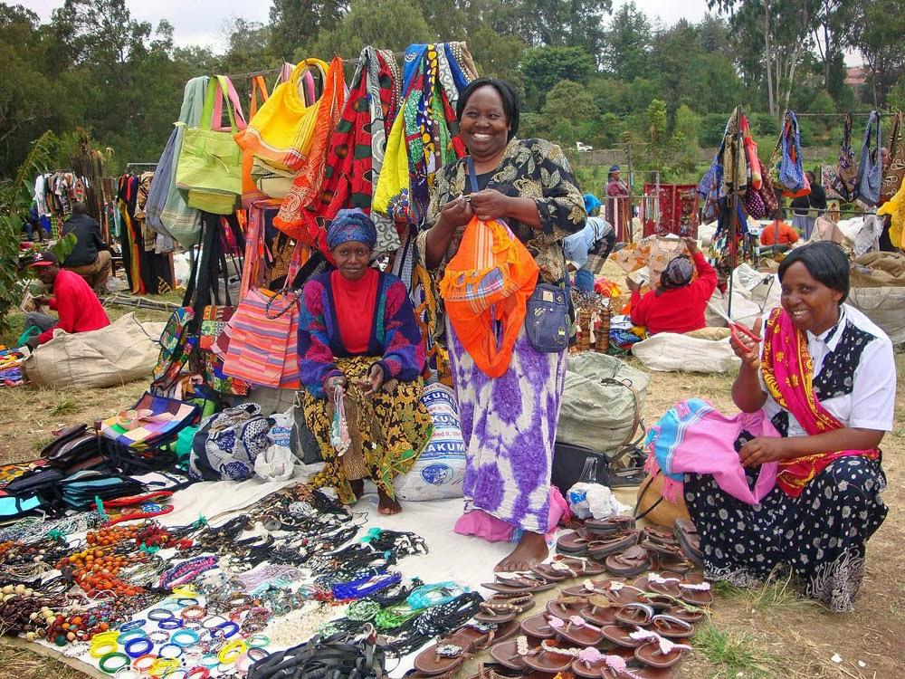 Кенийский рынок
