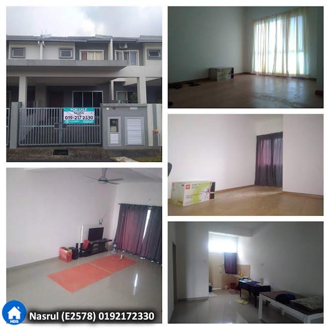 Rumah Teres 2 tingkat di Albury2 @ Mahkota Hills, Lenggeng N.Sembilan