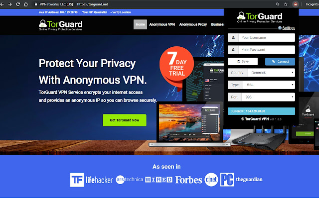 TorGuard VPN Extension