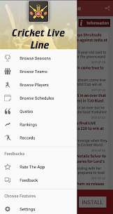 Cricket Live Line App Latest Version Download For Android and iPhone 4
