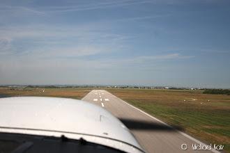 Photo: Avgang fra RWY 03 mot nord på Lydd.
