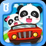 Baby Panda Car Racing Icon