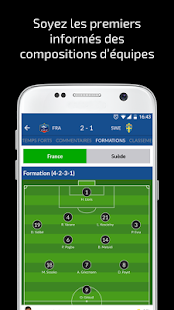 Résultats Foot en Direct- screenshot thumbnail