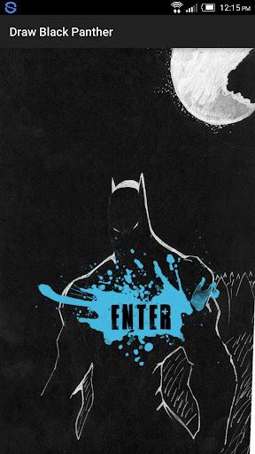 Draw Hero Black Panther