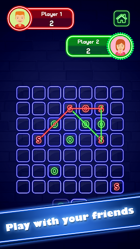 SOS Glow: Offline Multiplayer Board screenshot 3