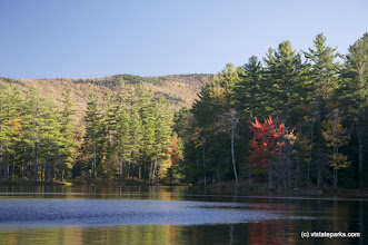 Photo: Foliage starting at Lowell Lake State Park by Jared Lennox