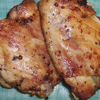 Easy Slow Roasted Chicken Thighs