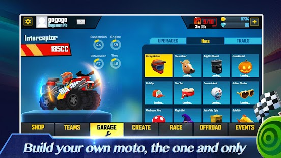 MotoCraft Screenshot