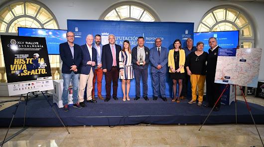 Presentación de la XLV edición del Rallye Costa de Almería
